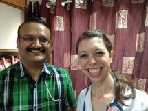Dr. Kothari and me